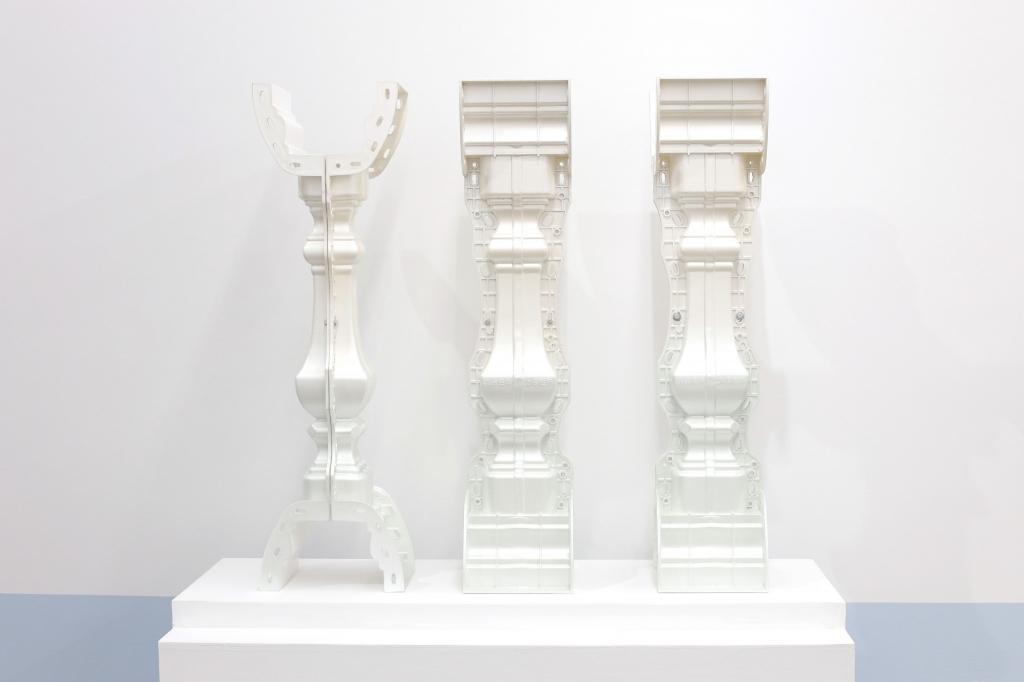 XW_三连翠珠光柱Triplet Cyan-Pearlized Pillar_2018